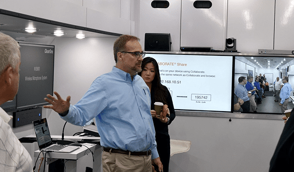 ClearOne Connections Tour Heads to SAVI HQ