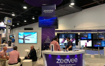 InfoComm 2018: SAVI Canvas Demo in the ZeeVee Booth